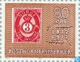 Briefmarken - Norwegen - 80 Brown