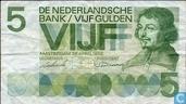 5 florins néerlandais 1966