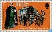 Postage Stamps - Jersey - Patient Care St. John