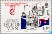 Postage Stamps - Man - Red Cross 1864-1989