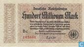 Berlin (Reichsbahn) 100 Million Mark