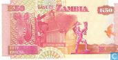 Billets de banque - Bank of Zambia - Kwacha zambien 50