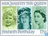 Königin Elizabeth II-60. Jahrestag