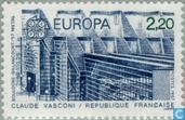 Timbres-poste - France [FRA] - Europe – Architecture moderne
