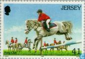 Timbres-poste - Jersey - Sports équestres