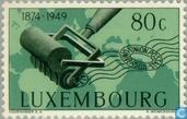 Postage Stamps - Luxembourg - 75 years of UPU