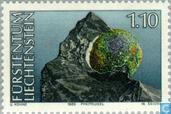 Briefmarken - Liechtenstein - Mineralien
