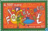 Timbres-poste - France [FRA] - Folklore