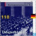 Postage Stamps - Germany, Federal Republic [DEU] - Parliament Council 1948-1998