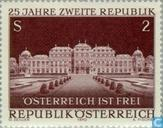 Postage Stamps - Austria [AUT] - Second Republic 25 years
