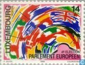 Postage Stamps - Luxembourg - European Parliament Elections