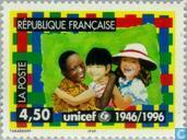 Postage Stamps - France [FRA] - 50 years UNICEF