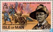 Timbres-poste - Man - Sir Winston Churchill