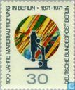 Briefmarken - Berlin - Metallforschung 1871-1971
