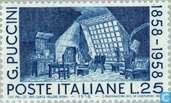 Timbres-poste - Italie [ITA] - Giacomo Puccini