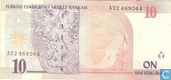Billets de banque - Turquie - 8th Emission - Turquie 10 New Lira 2005 (L1970)