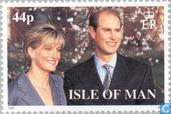Prinz Edward und Sophie Rhys-Jones Hochzeit