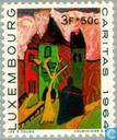 Postage Stamps - Luxembourg - Children's paintings