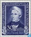 Postzegels - Duitsland, Bondsrepubliek [DEU] - Wichern, Johann Hinrich 1808-1881