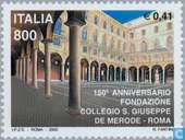 Postage Stamps - Italy [ITA] - San Giuseppe school 150 years