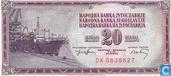 Bankbiljetten - Narodna Banka Jugoslavije - Joegoslavië 20 Dinara