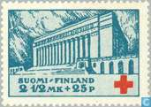 Postage Stamps - Finland - Red Cross Helsinki