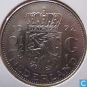 Coins - the Netherlands - Netherlands 2½ gulden 1972