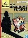 Strips - 4 Helden, De - De 4 helden en de nachtelijke bezoeker