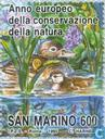 Postage Stamps - San Marino - Nature Conservation Year