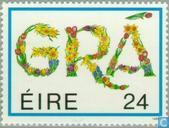 Timbres-poste - Irlande - LOVE timbres