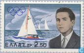 Postage Stamps - Greece - Olympic victory Crown Prince Constantine