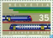 Postage Stamps - Switzerland [CHE] - S-Bahn