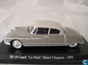 Voitures miniatures - Atlas - Citroën DS 19 Coach 'Le Paris'