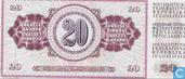 Bankbiljetten - Joegoslavië - 1974 Issue - Joegoslavië 20 Dinara 1974