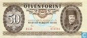 Hongrie 50 Forint 1986