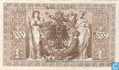 Billets de banque - Reichsbanknote - Reichsbank, 1000 Mark 1910