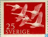 Postage Stamps - Sweden [SWE] - 25 red