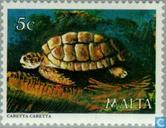 Postage Stamps - Malta - Sea Creatures
