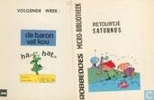 Strips - Mijnheer Bola - Retourtje Saturnus