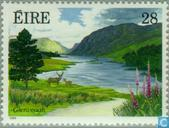 Postage Stamps - Ireland - Gardens and parks
