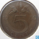 Coins - the Netherlands - Netherlands 5 cent 1950