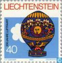 Timbres-poste - Liechtenstein - 200 années de l'aviation