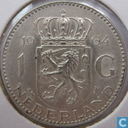 Coins - the Netherlands - Netherlands 1 gulden 1964