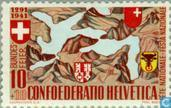 Timbres-poste - Suisse [CHE] - Paysage