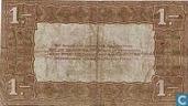 Banknoten  - Silberschein Niederlande - 1 Niederlande Gulden 1920