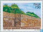 Postage Stamps - Italy [ITA] - City Wall Gela