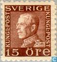 Postage Stamps - Sweden [SWE] - King Gustaf V