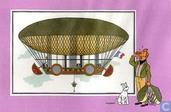 "Comic Books - Kuifjesbon producten - Chromo's ""Luchtschepen"" 12"