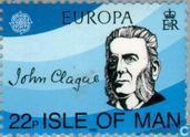 Postzegels - Man - Europa – Jaar van de muziek
