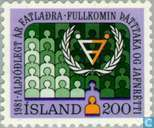 Postage Stamps - Iceland - Int. Year Disabled